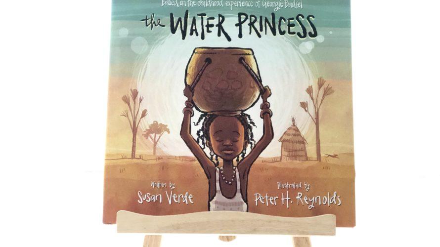 "SDGs関連の絵本としてグローバル子育てとなるバイリンガル育児にオススメの英語絵本、""The Water Princess"""